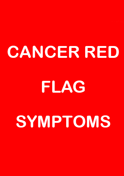 Cancer Red Flag Video